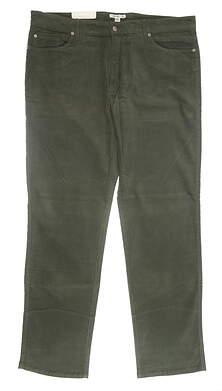 New Mens Peter Millar Corduroy Pants 40 Green MSRP $125 MF16B92