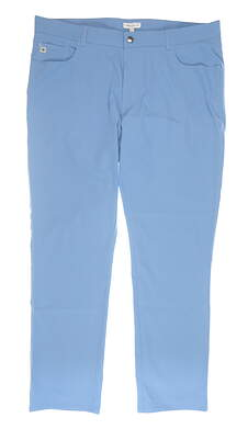 New Mens Peter Millar Performance Pants 40x32 Blue MSRP $145 MS19EB66FB