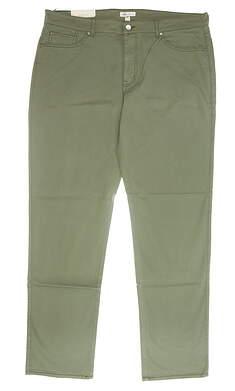 New Mens Peter Millar Sateen Stretch 5 Pocket Pants 40 Green MSRP $145 MF17B93