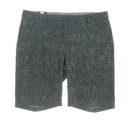 New Mens Greg Norman Golf Shorts 36 Black MSRP $70 G7S9H813