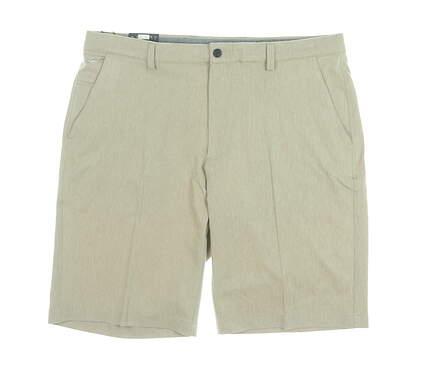 New Mens Greg Norman Golf Shorts 36 Khaki MSRP $70 G7S9H901