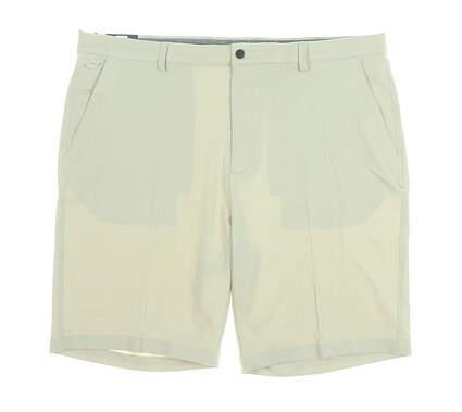 New Mens Greg Norman Golf Shorts 40 Khaki MSRP $70 G7S9H901