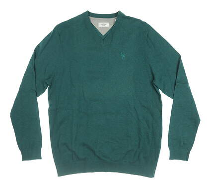 New W/ Logo Mens Adidas Sweater X-Large XL Green MSRP $125