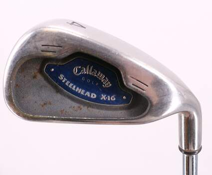 Callaway X-16 Single Iron 4 Iron Steel Uniflex Right Handed 38.5in