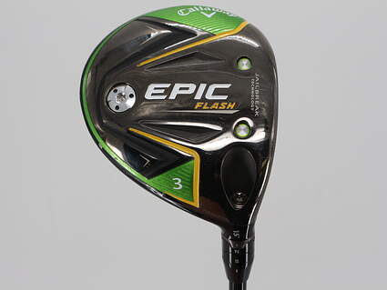 Callaway EPIC Flash Fairway Wood 3 Wood 3W 15° Mitsubishi Tensei AV Blue 75 Graphite Stiff Right Handed 43.0in