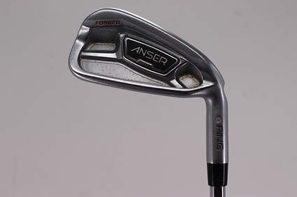 Ping Anser Forged 2013 Single Iron 4 Iron True Temper Dynamic Gold X100 Steel X-Stiff Right Handed Orange Dot 39.5in