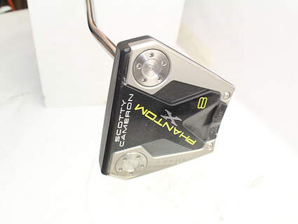 Mint Titleist Scotty Cameron Phantom X 8 Putter Steel Right Handed 34.0in