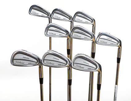 Titleist 690.CB Forged Iron Set 2-PW True Temper Dynamic Gold S300 Steel Stiff Right Handed 38.5in