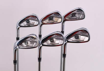 Wilson Staff C300 Forged Iron Set 5-PW FST KBS Tour 80 Steel Regular Left Handed 38.0in