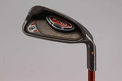 Ping G10 Single Iron 4 Iron Ping TFC 129I Graphite Stiff Right Handed Yellow Dot 38.25in