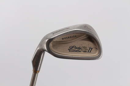 Cobra Lady II Oversize Single Iron Pitching Wedge PW IQ System Hump Shaft Graphite Ladies Left Handed 35.25in