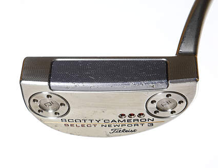 Titleist Scotty Cameron 2018 Select Newport 3 Putter Steel Right Handed 35.0in