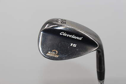 Cleveland CG15 Black Pearl Wedge Lob LW 58° 12 Deg Bounce True Temper Dynamic Gold Steel Wedge Flex Right Handed 35.75in