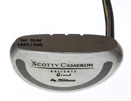 Titleist Scotty Cameron Caliente Grand Putter Steel Right Handed 34.5in
