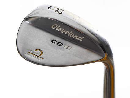 Cleveland CG15 Satin Chrome Wedge Gap GW 52° 10 Deg Bounce Project X 6.5 Steel X-Stiff Right Handed 35.5in
