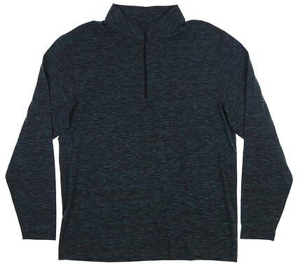 New Mens Dunning Rona 1/4 Zip Pullover Large L Jasper Heather MSRP $99 D7F19K948