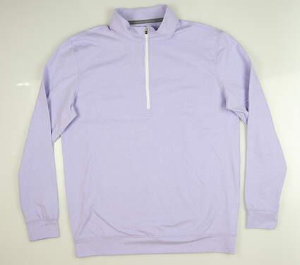New Mens Straight Down Ballard 1/4 Zip Pullover Large L Purple MSRP $104 60473