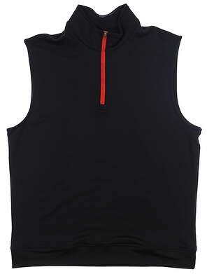 New Mens Dunning Iona Vest Large L Black MSRP $79 D7S20V951