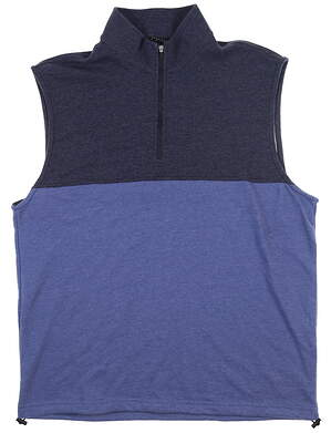 New Mens Dunning Kames Vest Large L Mid Blue/ Halo MSRP $89 D7S20V955