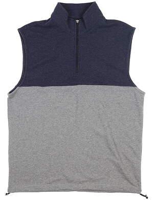 New Mens Dunning Kames Vest Large L Mid Grey/ Halo MSRP $89 D7S20V955