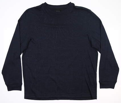 New Mens Dunning Stirling Crew Neck Sweater Large L Halo MSRP $99 D7S19K922