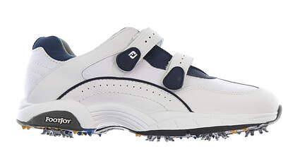 New Mens Golf Shoe Footjoy Golf Specialty Velcro Medium 9.5 White MSRP $80 50026