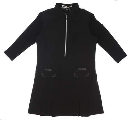 New Womens Jamie Sadock Dress Medium M Black MSRP $130 92404