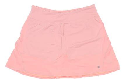 New Womens Lija Golf Skort Large L Pink MSRP $85