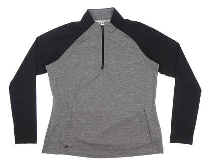 New Womens Adidas 1/4 Zip Pullover X-Large XL Multi MSRP $70 FT1540