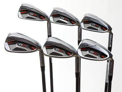 Ping G410 Iron Set 5-PW ALTA CB Red Graphite Senior Right Handed Black Dot 38.25in