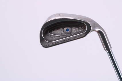 Ping Eye 2 Single Iron 6 Iron Ping ZZ Lite Steel Regular Right Handed Blue Dot 38.5in