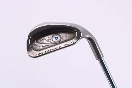 Ping Eye 2 Single Iron 7 Iron Ping ZZ Lite Steel Regular Right Handed Blue Dot 38.25in