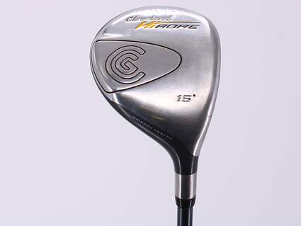 Cleveland Hibore Fairway Wood 3 Wood 3W 15° Cleveland Fujikura Fit-On Gold Graphite Stiff Right Handed 43.25in