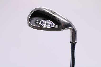 Callaway 2002 Big Bertha Single Iron Pitching Wedge PW Callaway RCH Iron 65 Graphite Ladies Right Handed 34.5in