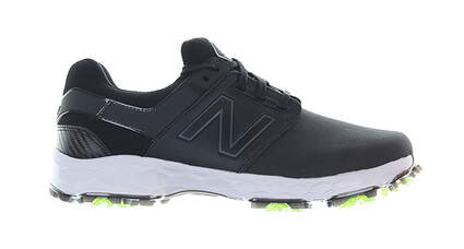 New Mens Golf Shoe New Balance Fresh Foam LinksSL Medium 8.5 Black MSRP $100 NBG4001BK