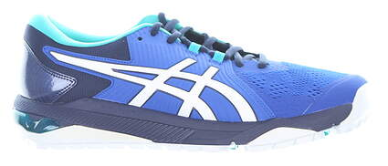 New Mens Golf Shoe Asics GEL-COURSE GLIDE Medium 8 Blue MSRP $130 1111A085 400