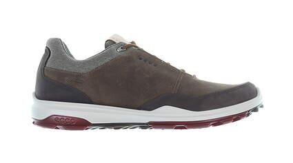 New Mens Golf Shoe Ecco BIOM Hybrid 3 45 (11-11.5) Extra Width Brown MSRP $200 155804 01034