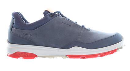 New Mens Golf Shoe Ecco BIOM Hybrid 3 46 (12-12.5) Extra Width Blue MSRP $200 155804 01415