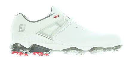 New Mens Golf Shoe Footjoy Tour X Medium 9.5 White MSRP $200 55403