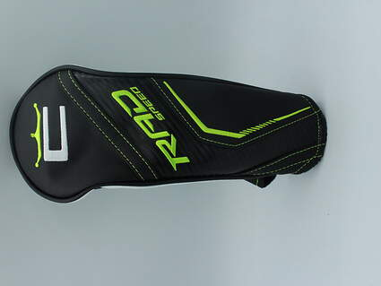 Cobra RAD Speed Fairway Wood Headcover Black/White/Green