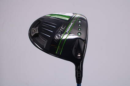 Mint Callaway EPIC Max Driver 9° Project X Even Flow Blue 65 Graphite X-Stiff Right Handed 45.5in