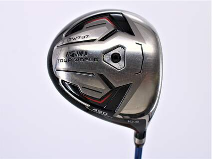 Honma TW737 450 Driver 10.5° Vizard 60 Graphite Stiff Right Handed 45.75in
