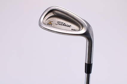 Titleist DCI 981 Wedge Pitching Wedge PW Stock Steel Shaft Steel Wedge Flex Right Handed 35.0in
