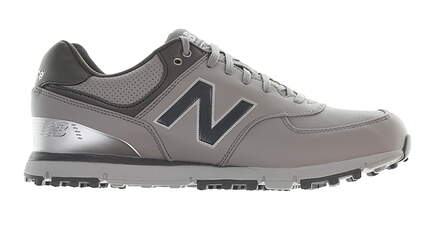 New Mens Golf Shoe New Balance Leather 574 Medium 9.5 Gray MSRP $120 NBG574GRS