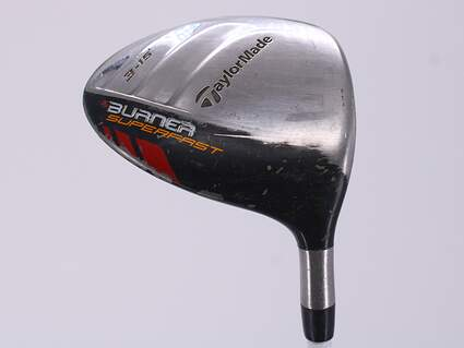 TaylorMade Burner Superfast Fairway Wood 3 Wood 3W 15° Apollo Shadow Wood Graphite Senior Right Handed 43.0in