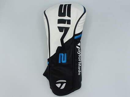 TaylorMade SIM2 Driver Headcover Black/White/Blue
