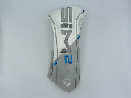 TaylorMade Womens SIM2 Driver Headcover White/Blue/Gray