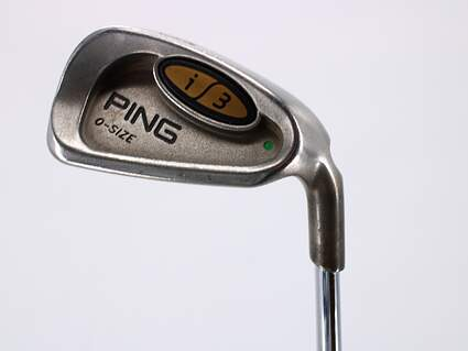 Ping i3 Oversize Single Iron 8 Iron Ping JZ Steel Stiff Right Handed Green Dot 37.0in