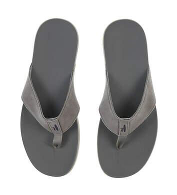 New Mens Golf Shoe Johnnie-O Dockside Sandals 12 Gray MSRP $78 JMFW1040