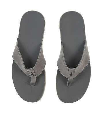 New Mens Golf Shoe Johnnie-O Dockside Sandals 11 Gray MSRP $78 JMFW1040